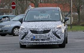 opel cars 2017 nya opel zafira 2017 opel zafira facelift spied with less camouflage