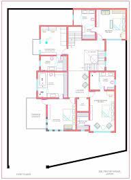 Bungalow Ground Floor Plan by Overview Vardhman Bungalows At Vaishali Nagar Jaipur Vardhman