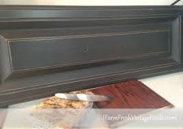 Using Annie Sloan Chalk Paint On Kitchen Cabinets Chalk Paint Decorative Paint By Annie Sloan In Graphite With A
