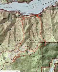 Oregon Topographic Map by Oregon Hikers U2022 View Topic Mt Defiance 7 4