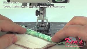 Janome Acufeed 1 4 Inch Quilt Piecing Foot Twin At Ken U0027s Sewing