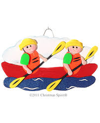 kayak ornaments for 2 clay kayak ornaments for 2