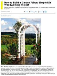 wedding arch blueprints free arbor plans how to build an arbor