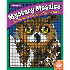 mystery mosaics coloring book 3 creative kidstuff