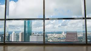 view towards the houston tx galleria seen from the jpmorgan chase