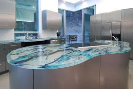 Kitchen Countertop Material Design Expensive Blue Marble Countertop Modern Countertops