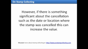 how to find out the value of old stamps youtube