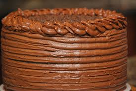 my story in recipes dark chocolate cake with nutella frosting