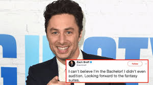 The Bachelor Meme - zach braff is pretty sure the new bachelor is his long lost twin
