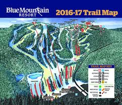 Utah Ski Resort Map by Blue Mountain Pa Trail Map Liftopia
