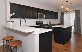 how to make cheap kitchen cabinets look better how to make a small kitchen look with black cabinets