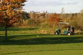 Burg Bad Bentheim Golfspielen Mit Burgblick