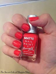 the secret life of maggie may barry m matte nail paint in copacabana