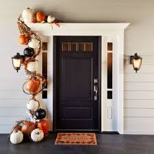 home made fall decorations festive door decor is all the rage wow your guests and neighbors