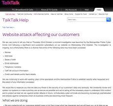 Talktalk Help Desk Telephone Number Talktalk Customer Details At Risk After Another Hacker Attack