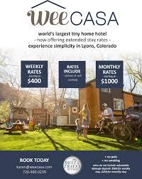 weecasa colorado u0027s first tiny home resort