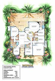 3 bedroom 2 bath 2 car garage floor plans murano home plan mediterranean style 4bed luxury master bath