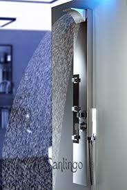 colonne de colonne de acier inoxydable miroir hydromassante cascade