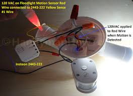 motion sensor wiring black red orange wiring diagrams