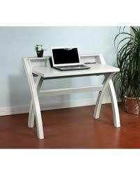 sleek desk amazing deal on sleek contemporary desk with cross legs white