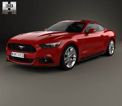 Mustang Gt 2015 Interior Ford Mustang Gt With Hq Interior 2015 3d Model Hum3d