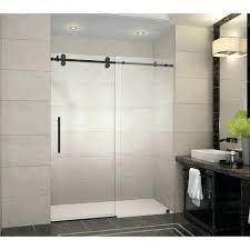 Bathroom Shower Glass Door Price Frameless Shower Doors Cost Door Per Square Foot Glass Price