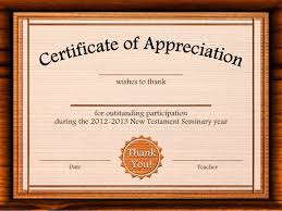 free certificate of appreciation templates for word