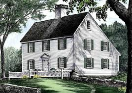 Saltbox Architecture Saltbox Style Historical House Plan 32439wp Architectural