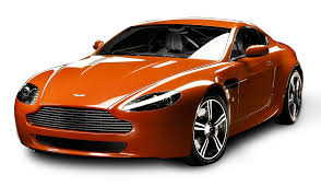 orange cars aston martin v8 vantage n400 orange car png image pngpix