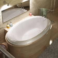 vino 60 x 36 oval bathtub with reversible drain