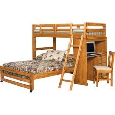 Bunk Bed Futon Desk Bunk Beds U0026 Loft Beds With Desks Wayfair