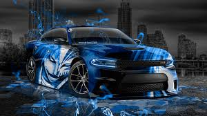 2015 Muscle Cars - dodge charger rt muscle anime bleach aerography city car 2015 el