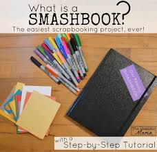 Book Ideas Smash Book Step By Step Tutorial The Realistic Mama