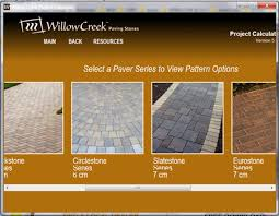 Patio Pavers Ta Willow Creek Paving Stones Concrete Pavers Patio Pavers