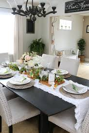 Decorating Ideas For Dining Room Table Easter Dining Room And Easter Tablescape Decorating Ideas Clean