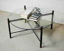 glass coffee table rebar coffee table living room table