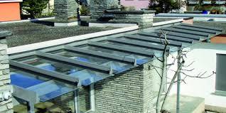 tettoie in legno e vetro tettoie in vetro vetro a
