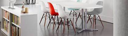 eames molded plastic chair office snapshots