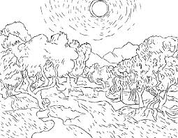 coloring page for van starry night coloring page large coloring pages elegant free van