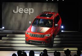 orange jeep 2016 jeep debuts 2017 grand cherokee summit trailhawk car pro