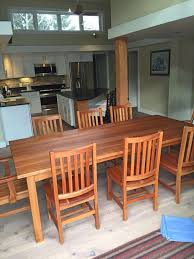 dining room table solid wood dining tables boulder furniture arts
