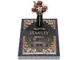 Flat Headstones With Vase Grave Markers Upright Headstones Gravestone Deals