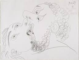 the kiss u0027 pablo picasso 1967 tate