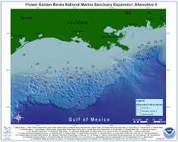 Uncw Map Proposed Sanctuary Expansion Flower Garden Banks National Marine