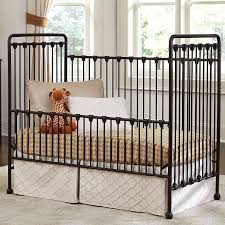 Baby S Dream Convertible Crib by Baby U0027s Dream Willa Metal Crib W Toddler Rail Bronze Kid U0027s