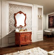 Antique Bathroom Mirrors by Top Classic Palace Style Wooden Antique Bathroom Mirror Cabinet