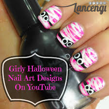 cute and girly halloween nail designs for beginners u2013 lancengi