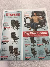 Staples Big Chair Event Chaim El Mais Professional Profile
