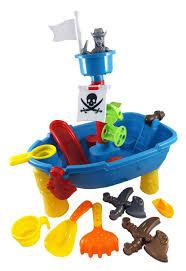 Play Table For Kids Amazon Com Pirate Ship Beach Sand And Water Play Table For Kids