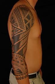 tribal arm sleeve tattoos for guys archives design ideas